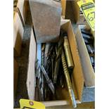 LOT OF ASSORTED DRILL BITS