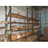 (2) SECTIONS OF LIGHT DUTY PALLET RACKING; (3) 160'' UPRIGHTS, (16) 2'' X 108'' HORIZONTAL BEAMS,