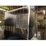 90'' WIDE X 51'' DEEP PAINT BOOTH