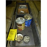 2) containers, nuts, washers