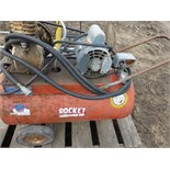 Rocket Air compressor and work light
