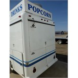 "1993 Waymatic 14' ""The Grill Spot"" lunch wagon. Includes all pictured equipment: SS shelf, sink,"