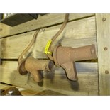(2) pitcher pumps