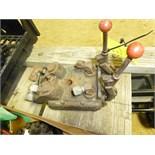 (2) valve hyd valve bank