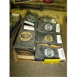 (6) boxes various size bolts
