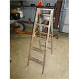 5' wood step ladder