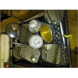 Tray w/ headlights