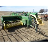 John Deere 346 baler w/ model 42 kicker