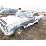 1992 Dodge 4x2, non-running