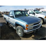 1992 Chevy Silverado 2500, 4x4. Reg. cab, 5 spd. 6.5 turbo diesel engine. 270,189 unverified
