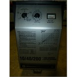 Schumacher battery charger, 10/40/200 amp