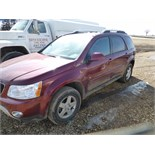 2009 Pontiac Torrent, 130,131 unverified miles. Automatic, AWD, runs and drives, check engine and