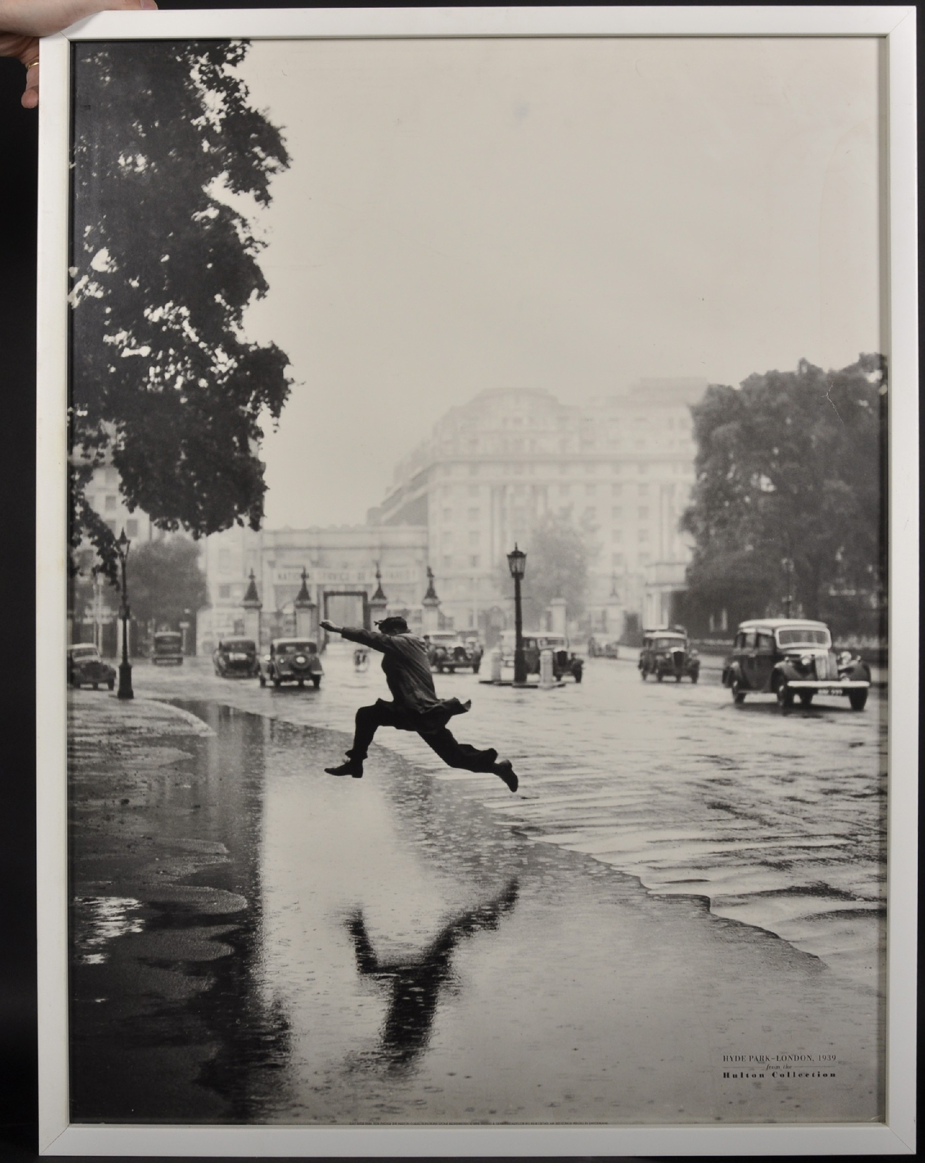 "After J A Hampton (20th Century) British. ""Leap of Faith"", Hyde Park, London, 1939, from the - Image 2 of 5"