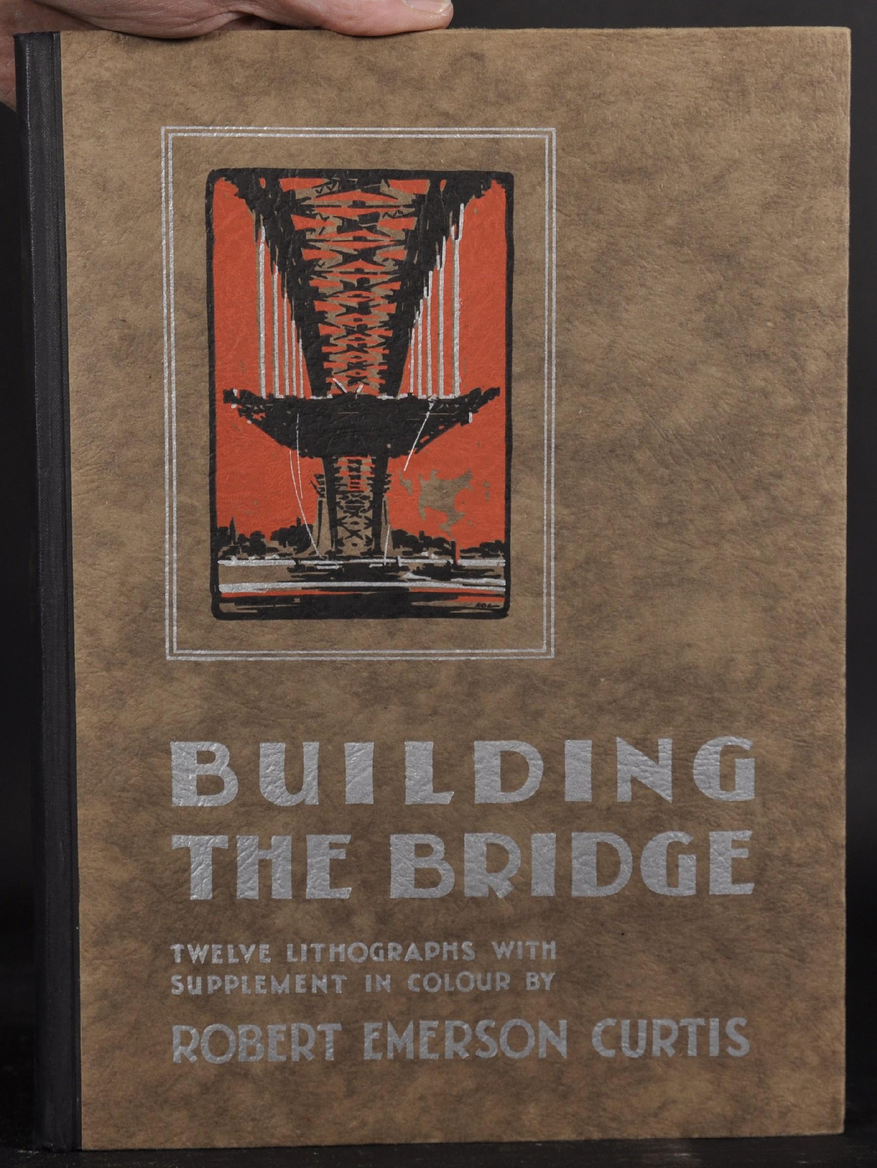 "Robert Emerson Curtis (1898-1996) British/Australian. ""The Bridge from Woolloomooloo"", with Sydney - Image 10 of 12"