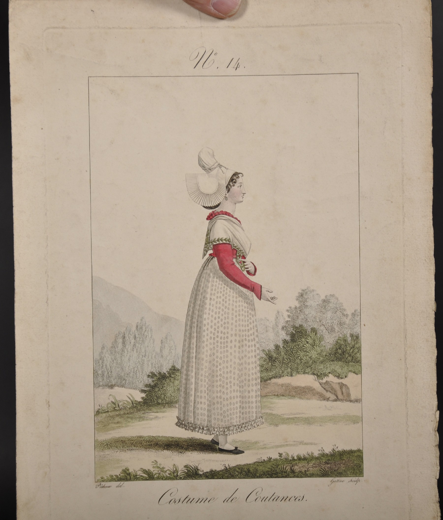 """After Louis Marie Lante and Georges-Jacques Gatine (17th Century) French. """"Jeune Fille du Canton - Image 5 of 8"""