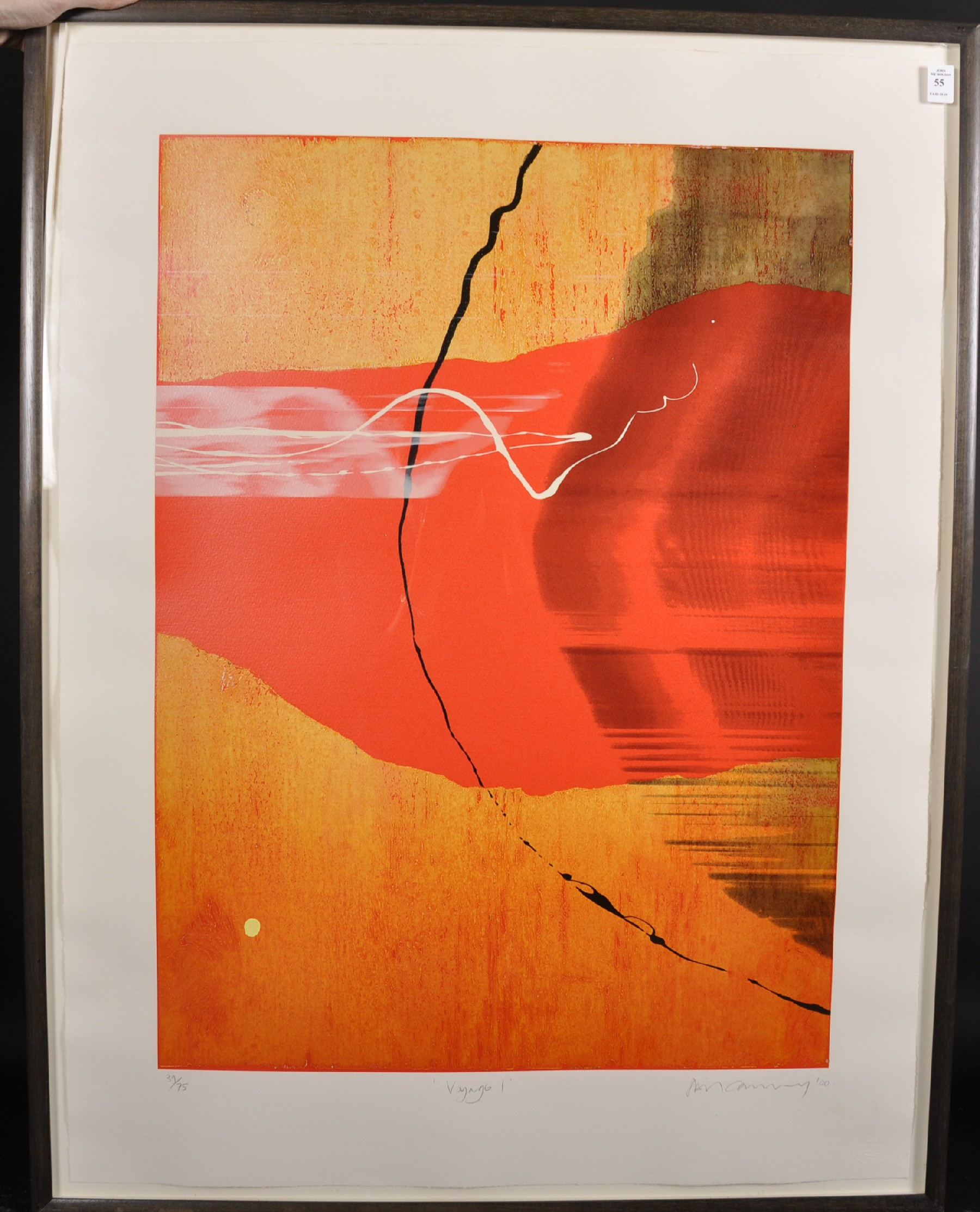 """Neil Canning (1960- ) British. """"Voyage I"""", Screenprint, Signed, Inscribed, Dated '00, and Numbered - Image 2 of 5"""