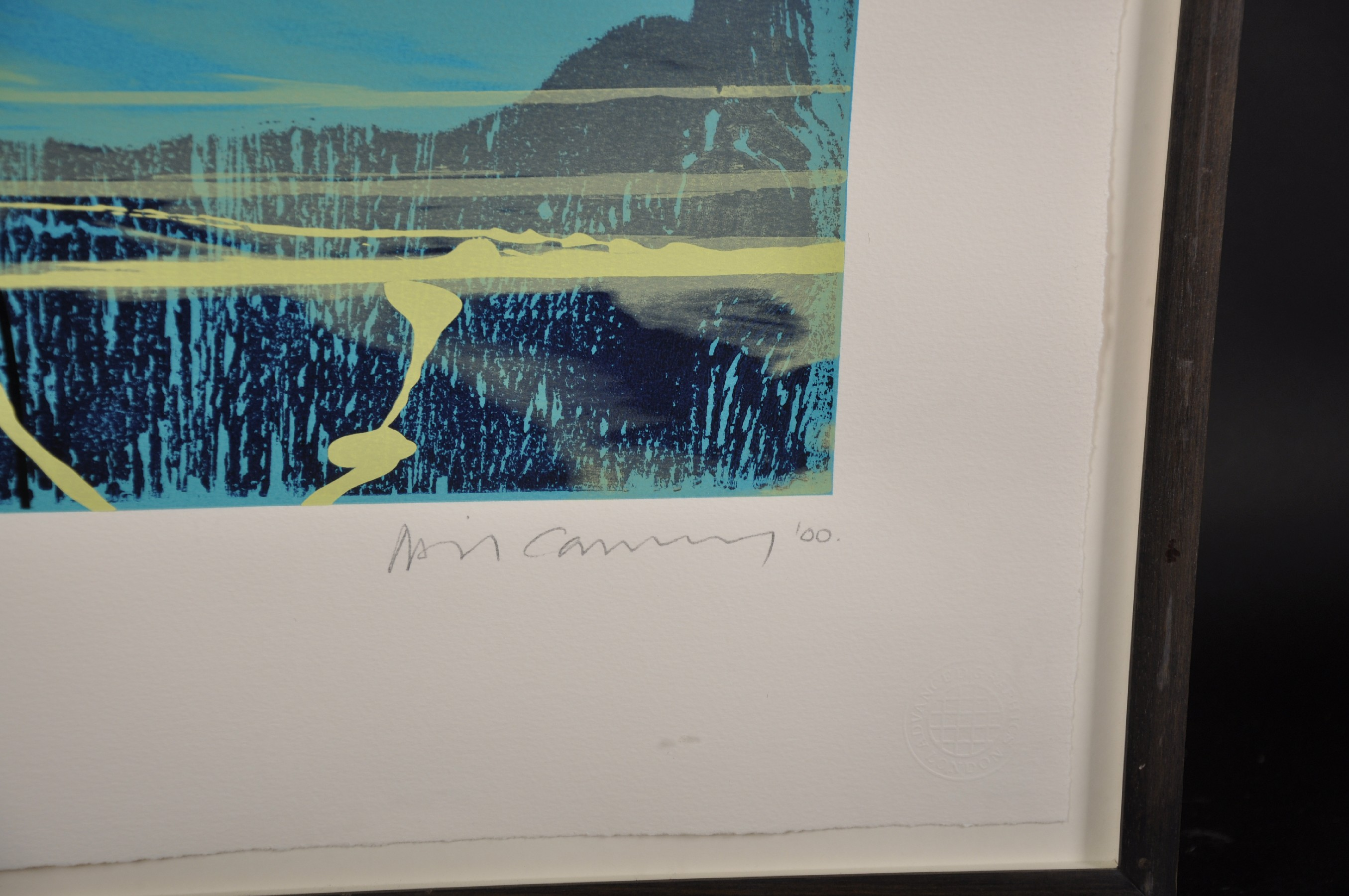 """Neil Canning (1960- ) British. """"Voyage I"""", Screenprint, Signed, Inscribed, Dated '00, and Numbered - Image 4 of 5"""