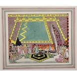 Ethelbert White (1891-1972) British. A Theatre Set Design, with a Whirling Dervish, Watercolour,