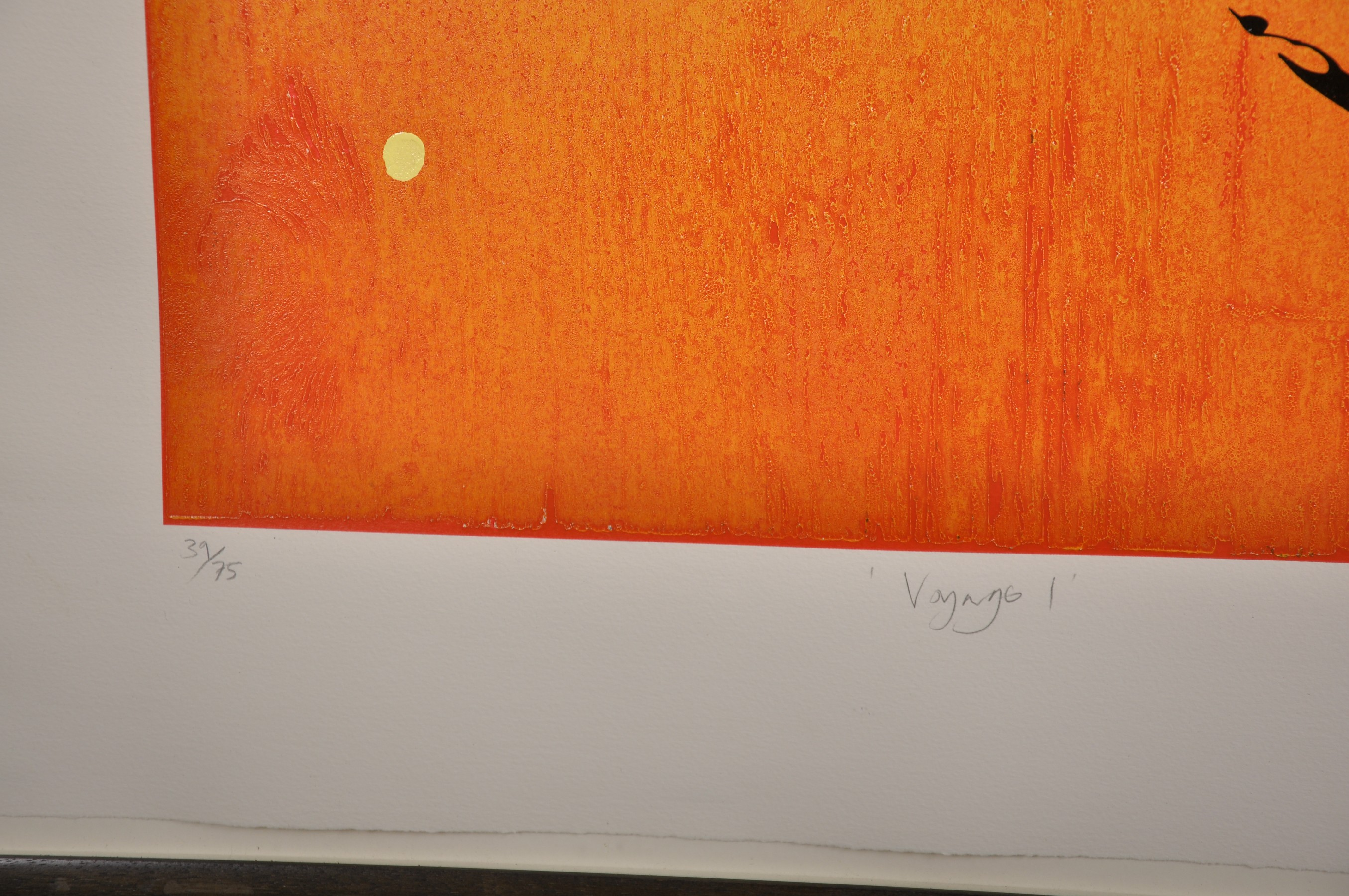 """Neil Canning (1960- ) British. """"Voyage I"""", Screenprint, Signed, Inscribed, Dated '00, and Numbered - Image 3 of 5"""