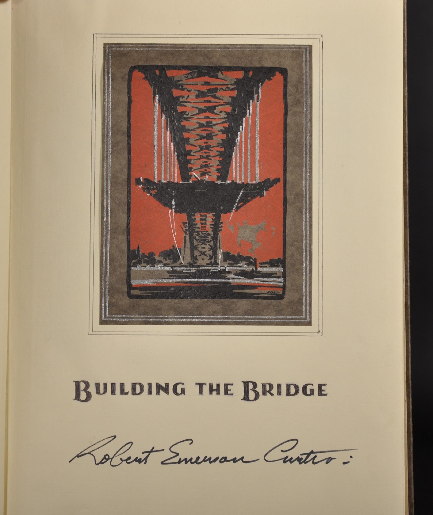 "Robert Emerson Curtis (1898-1996) British/Australian. ""The Bridge from Woolloomooloo"", with Sydney - Image 11 of 12"