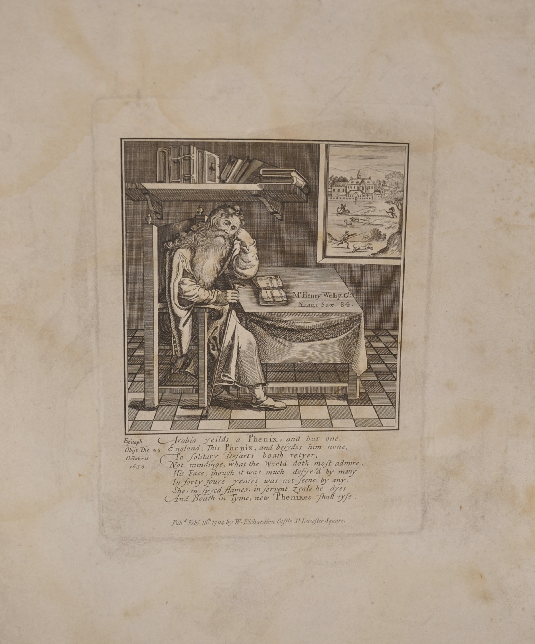 After James Gillray (1757-1815) British. 'The Man of Feeling, in Search of Indispensables', - Image 3 of 6