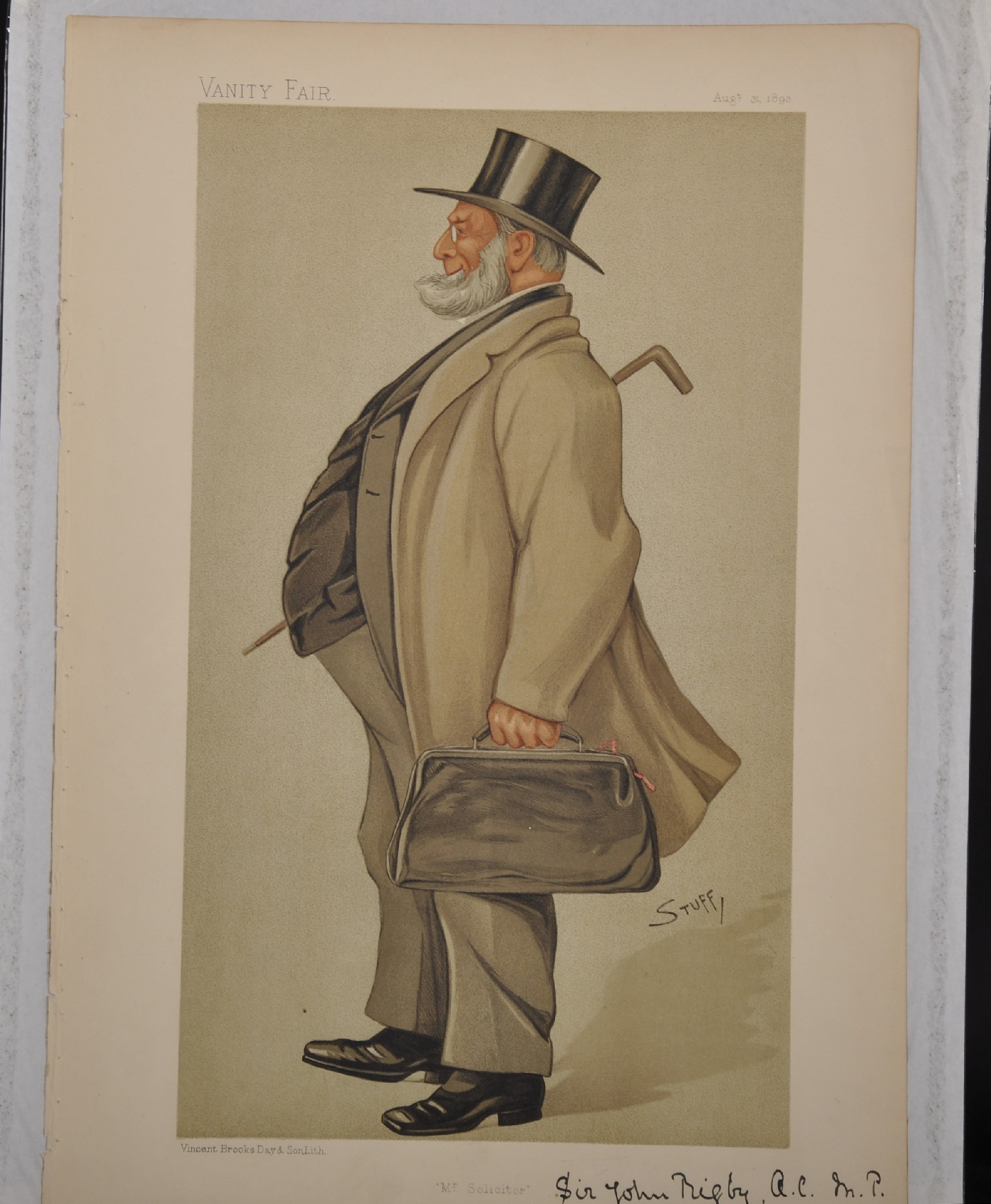 "Leslie Ward 'Spy' (1851-1922) British. ""Ossie"", Study of a Guards Officer in Mess Kit from Vanity - Image 3 of 6"