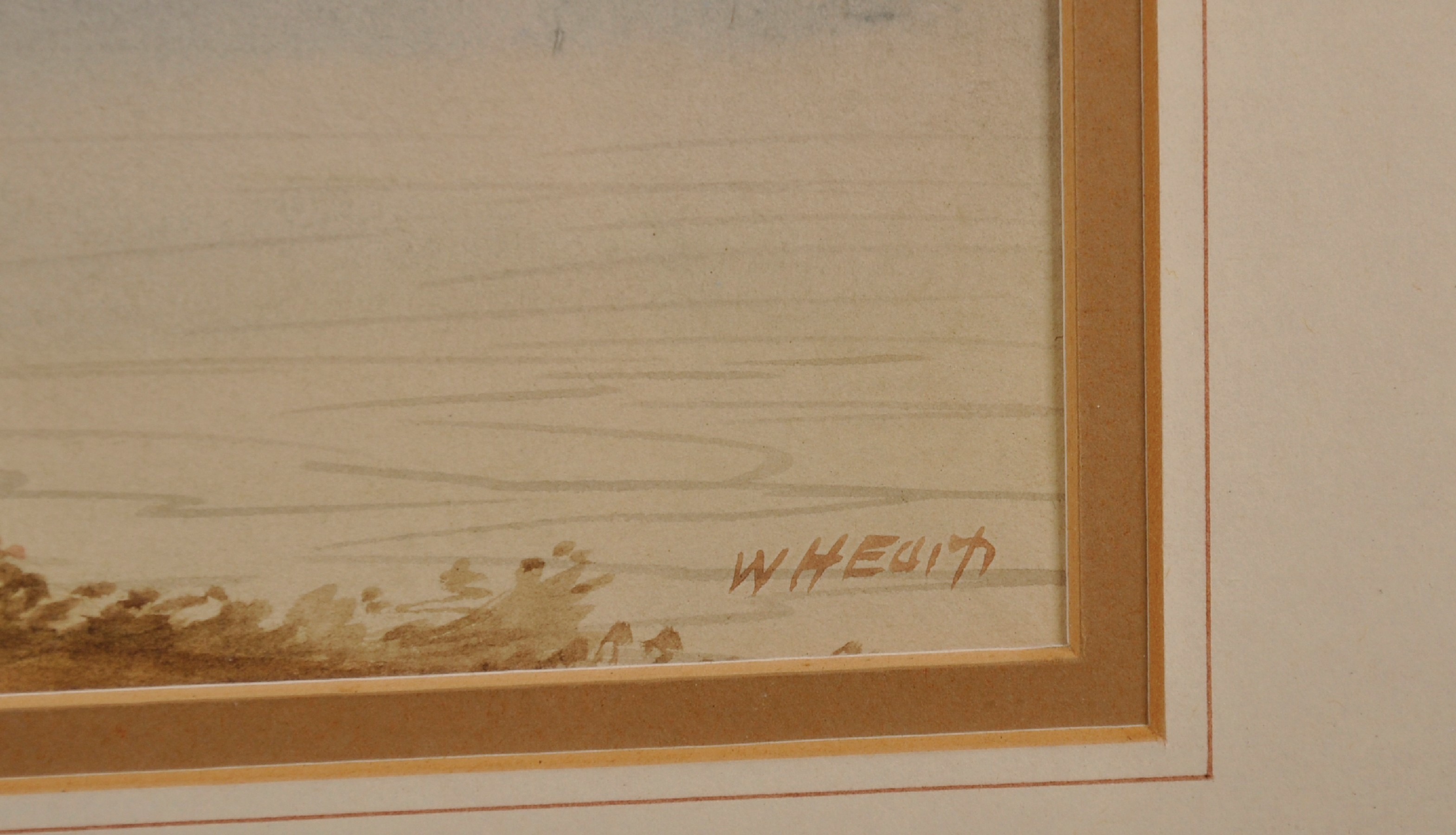 """William Henry Earp (1833- ) British. A Mountainous River Landscape, Watercolour, Signed, 10"""" x 21. - Image 5 of 7"""