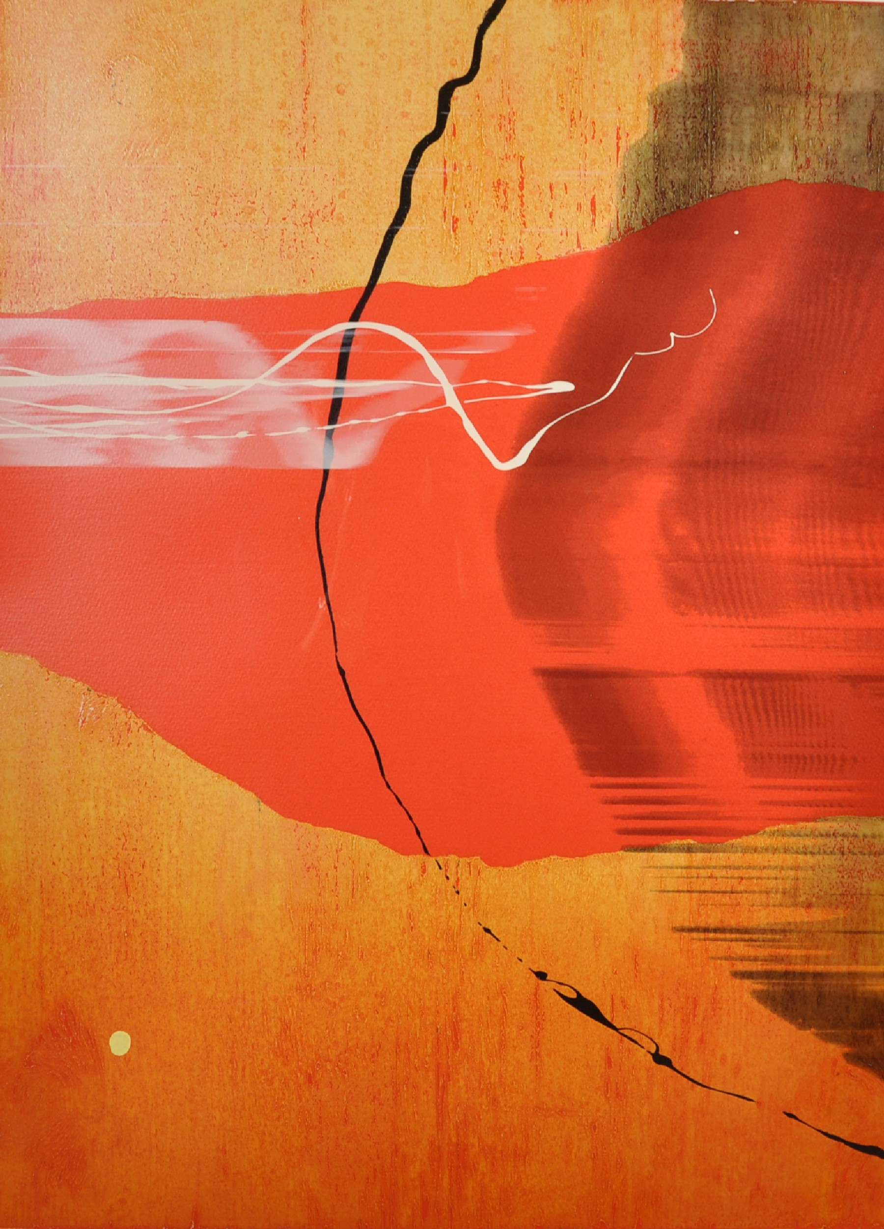"""Neil Canning (1960- ) British. """"Voyage I"""", Screenprint, Signed, Inscribed, Dated '00, and Numbered"""