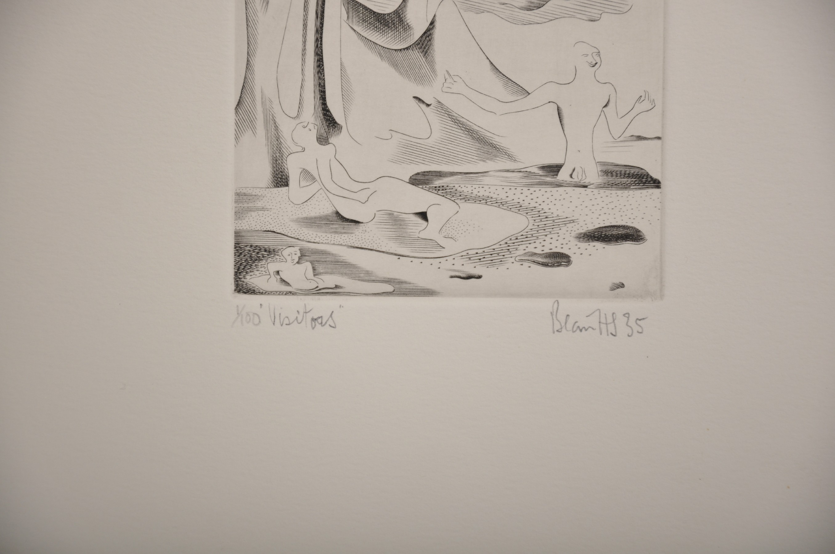 """Blair Hughes-Stanton (1902-1981) British. """"Meeting"""", Etching, Signed, Inscribed, Dated '67 and - Image 5 of 6"""