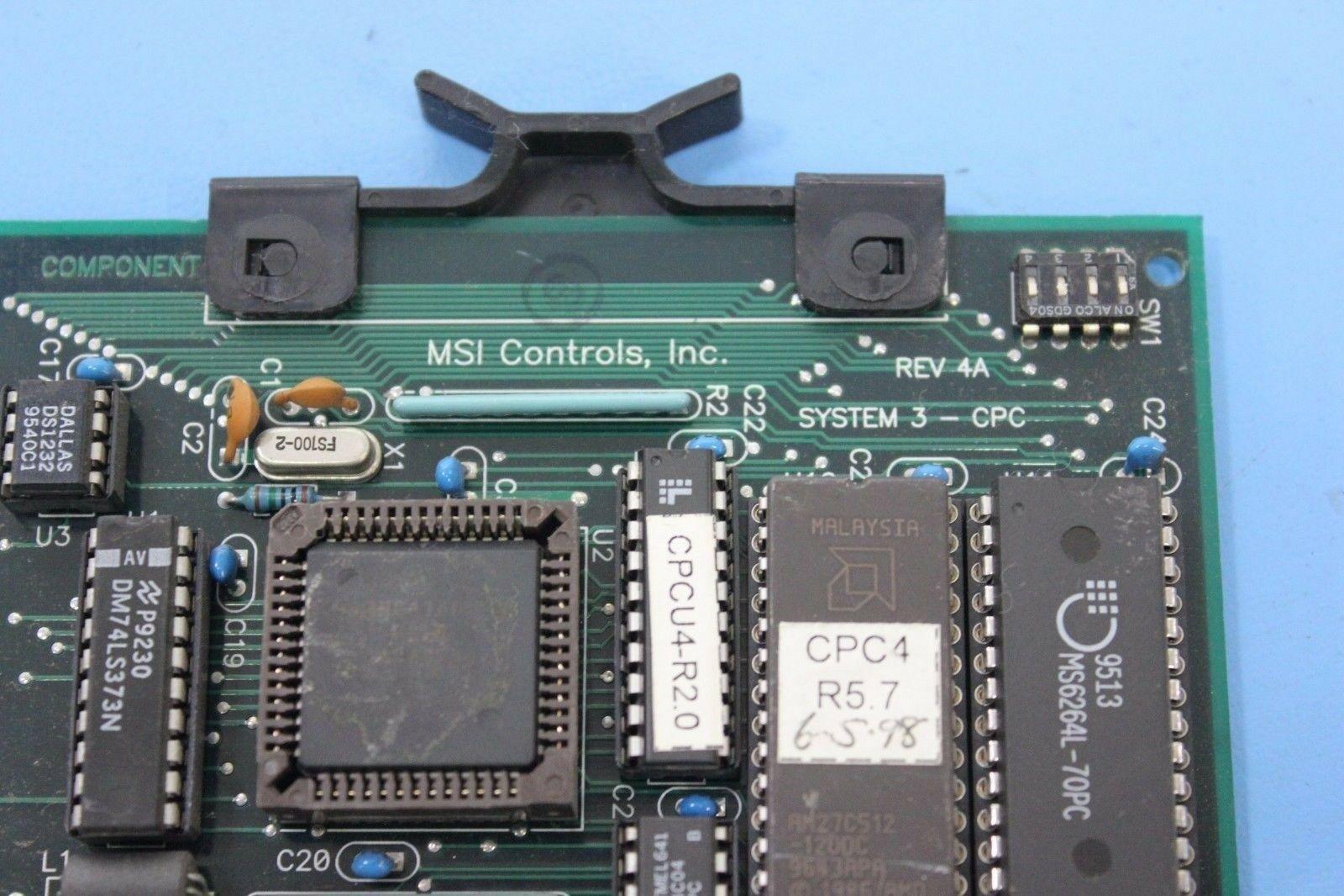AMERICAN MSI HOT RUNNER CPU BOARD - Image 2 of 3