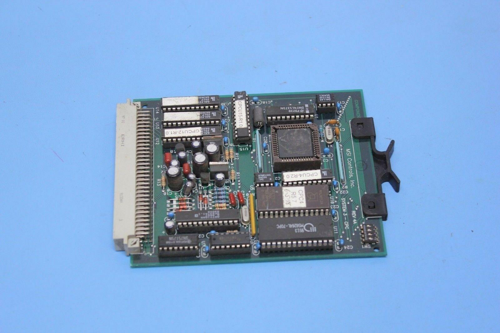 AMERICAN MSI HOT RUNNER CPU BOARD