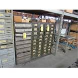 LOT: (3) Multi-Drawer Cabinets, with Assorted Die Parts