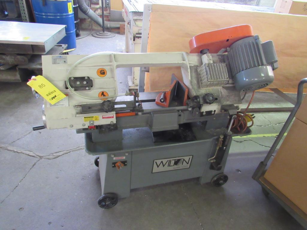 Lot 85 - Wilton 7 in. x 12 in. Portable Horizontal Band Saw Model 3416, S/N 03116873