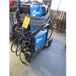 Miller 400 Amp XR Acumafeed MIG Welder, Wire Feed, Cable, Gun, Flow Meter, with Miller 350 Amp Aluma