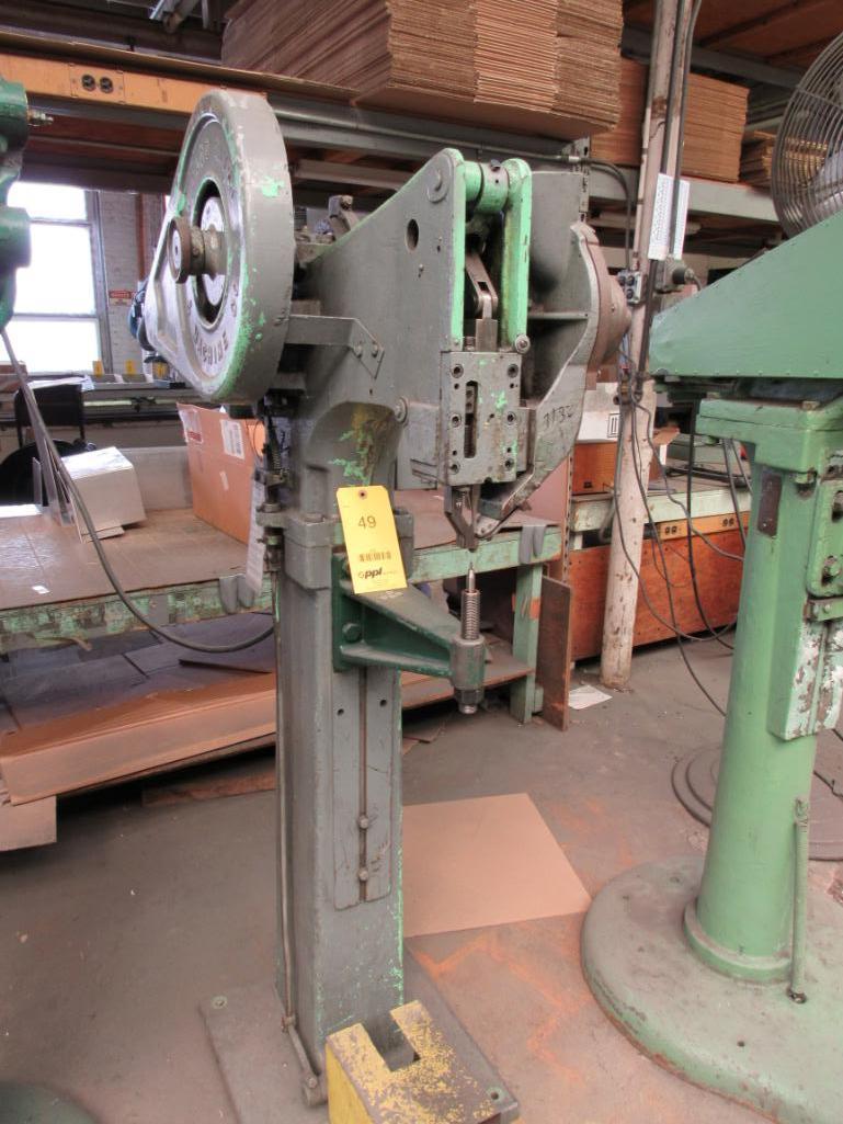 Lot 49 - Chicago Rivet & Machine Hopper Feed Riveter