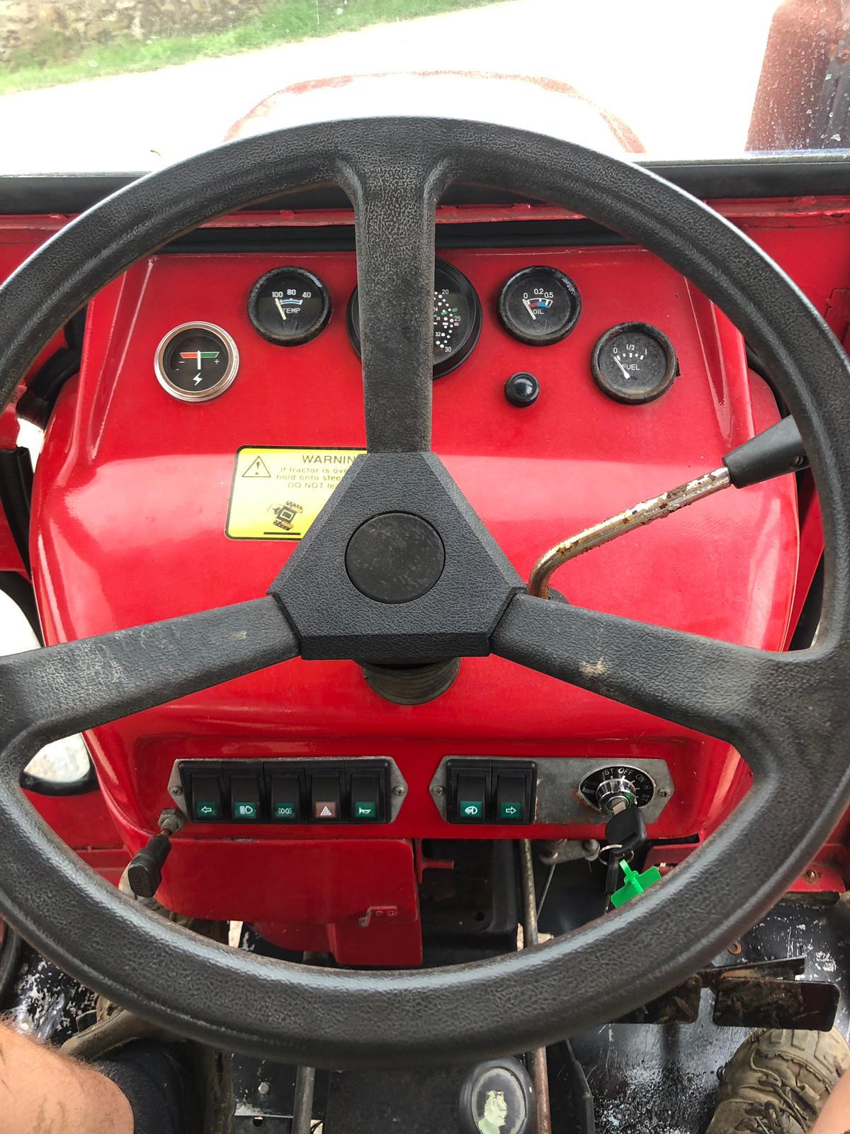 Lot 58 - SIROMER 204S COMPACT TRACTOR 4 WHEEL DRIVE, YEAR 2006, RUNS, WORKS & DRIVES *NO VAT*