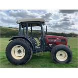 TYM T550 COMPACT TRACTOR WITH CAB, RUNS AND WORKS, SHOWING 2219 HOURS (UNVERIFIED) *PLUS VAT*
