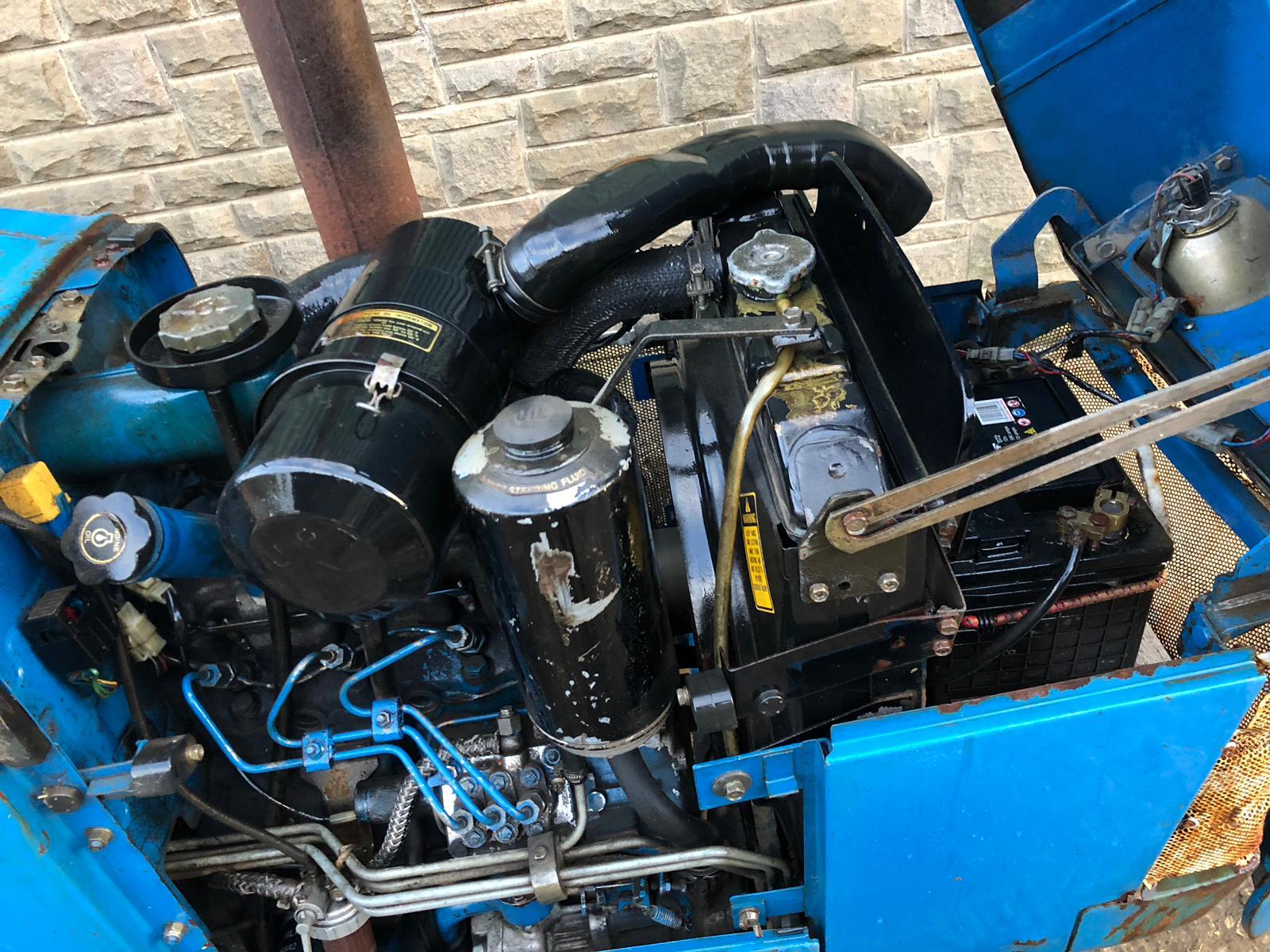 Lot 220 - 1994/M REG FORD NEW HOLLAND 1520 BLUE DIESEL COMPACT DIESEL TRACTOR *PLUS VAT*