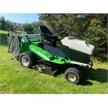 ETESIA MVEHH HYDRO RIDE ON LAWN MOWER C/W REAR GRASS COLLECTOR, RUNS, WORKS AND CUTS *PLUS VAT*