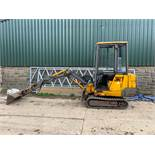 JCB 801.4 1.5 TON TRACKED DIGGER / EXCAVATOR, RUNS, WORKS AND DIGS *PLUS VAT*