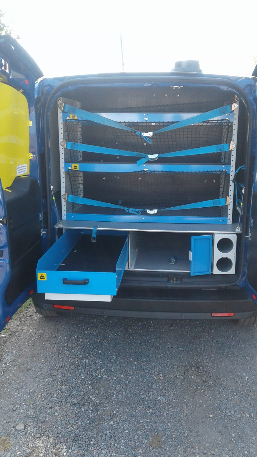 Lot 9 - 2016/16 REG FIAT DOBLO SX MULTI-JET 1.25 DIESEL BLUE PANEL VAN, SHOWING 0 FORMER KEEPERS *NO VAT*