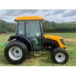 JCB 354 COMPACT TRACTOR WITH FULL GLASS CAB, RUNS AND WORKS, SHOWING 4592 HOURS *PLUS VAT*