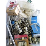LOT OF NUTS, BOLTS, SCREWS & WASHERS