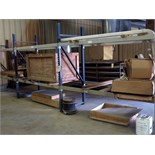 LOT OF MISC. CRATED & BOXED PARTS (contents of three pallet racks only - pallet racks not included)
