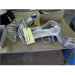 LOT OF FORMED STAINLESS STEEL TUBING