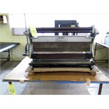 "SHEETMETAL BRAKE, ROLL & SHEAR COMBINATION, CENTRAL MACHINERY, 30""W. x 20 ga. max. material"