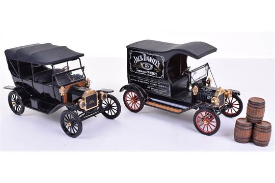 Two Franklin Mint Precision Models,1916 Ford Model T (one