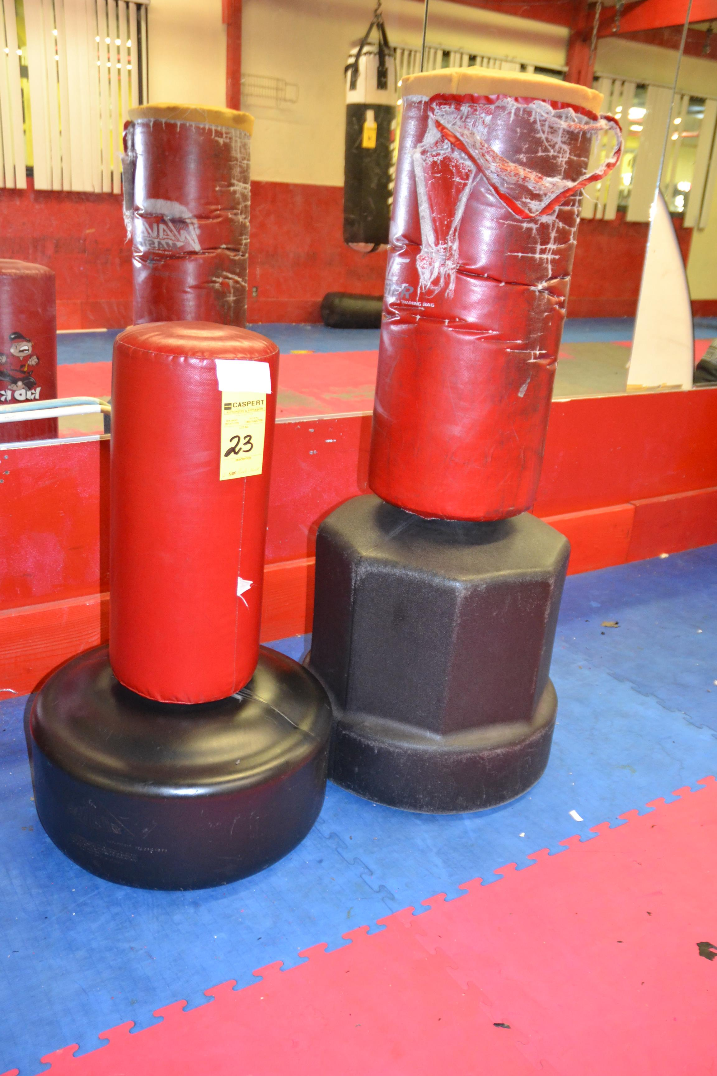 Lot 23 - PUNCH & KICK BAGS