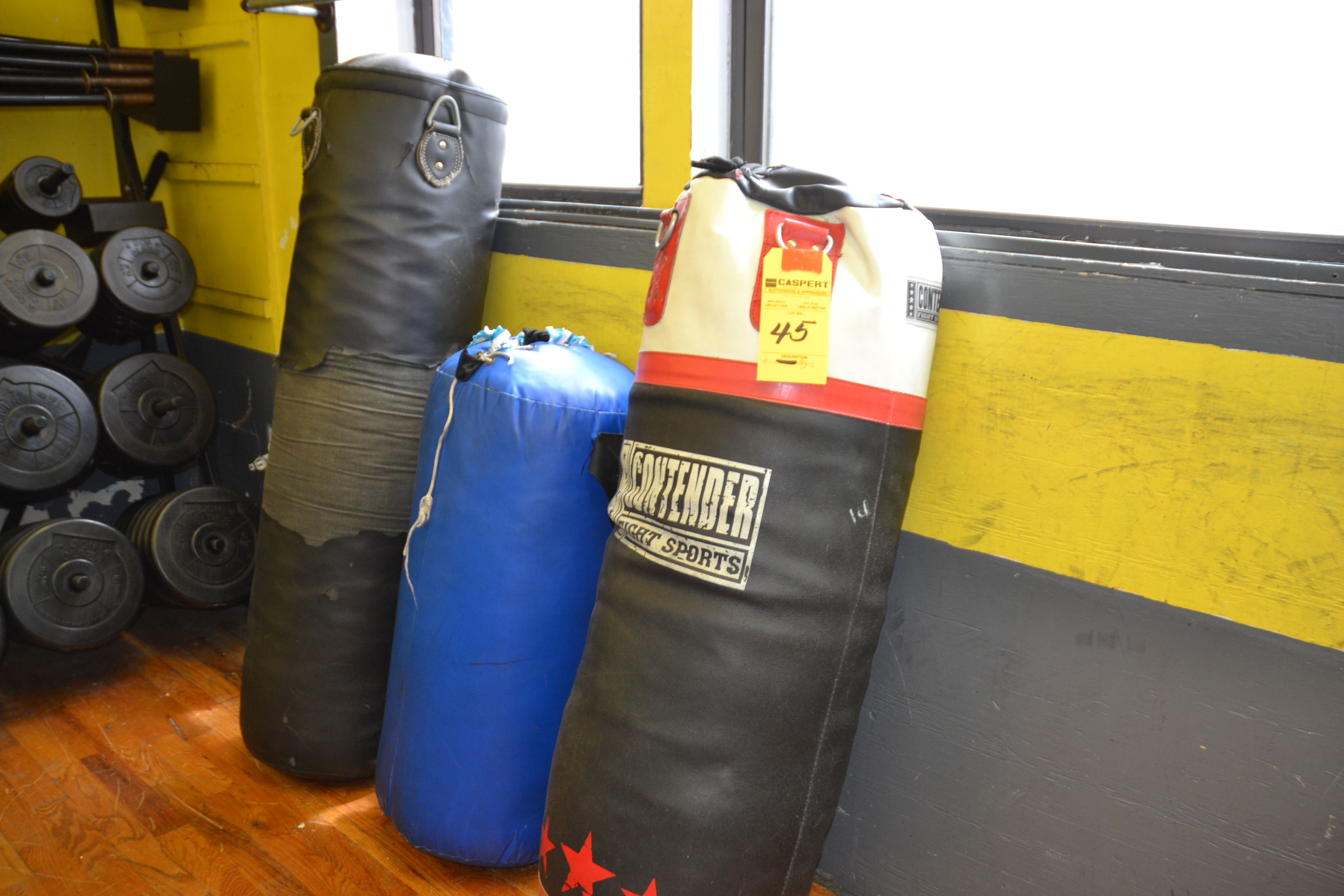 Lot 45 - FIGHTING HEAVY BAGS