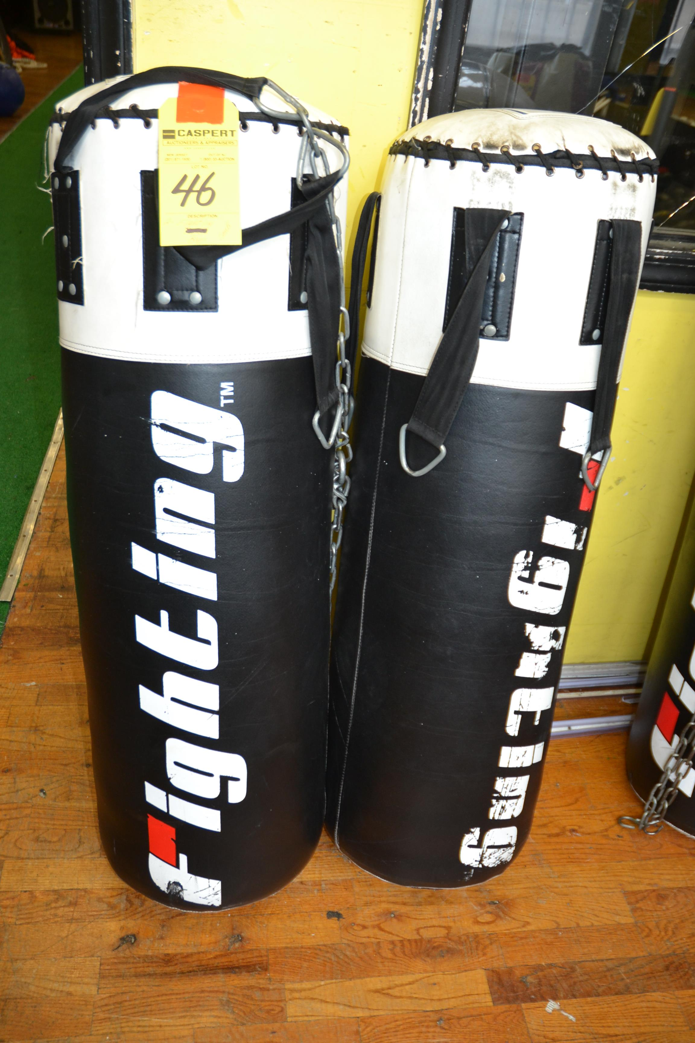 Lot 46 - FIGHTING HEAVY BAGS